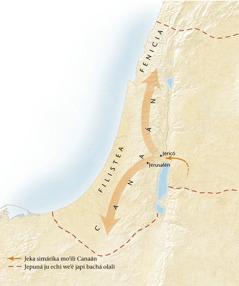Mapa Canaán nirúami[Mapa japi chukú echoná página11]