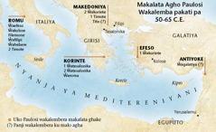 Mapu ghakulongora uko Paulosi wakalemberanga makalata