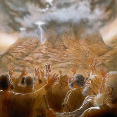 Moses and the Israelites at Mount Sinai
