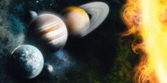 太陽の周りを公転する惑星