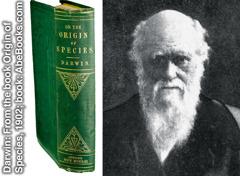 تشارلز داروين وكتابه «اصل الانواع»