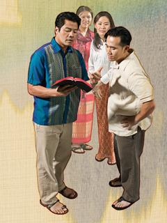 Quang pokazuje wersety Longowi iLan