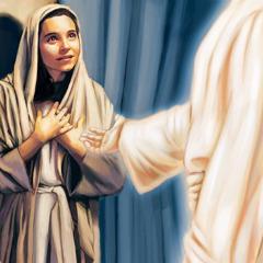الملاك جبرائيل يظهر لمريم