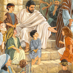 Jesus invites young children to come to him