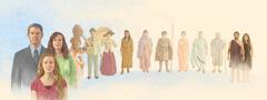 اشخاص من خلفيات كثيرة وأزمنة متنوعة