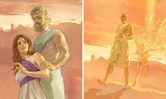 بُرے فرشتیاں نے اِنساناں دا روپ دھار لیا تے عورتاں نال ویاہ کیتا۔