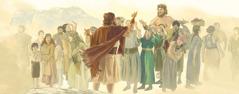 نوح يحذِّر الناس من الطوفان لكنهم يضحكون عليه