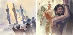 يسوع يُضرَب ثم يُقتَل