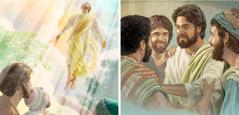 يسوع يظهر لرسله، ثم يصعد الى السماء