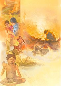 المشاكل الشائعة في الايام الاخيرة: المقامرة، الحروب، الامراض، المجاعات، تمرد الاولاد على والديهم، والعنف المنزلي