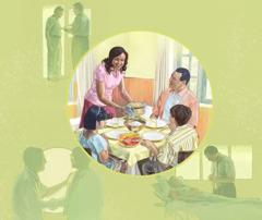 ایس آدمی دا ایمان اے خدا اوہدی تے اوہدے خاندان دی دیکھبھال کرے گا تے چنگے کم کرن لئی اوہدی مدد کرے گا۔