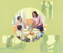 A Christian relies on Jehovah's help to support himself and his family and to do what is good