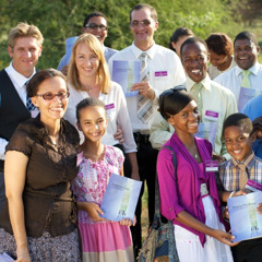 Jehovah's Witnesses at a district convention in Botswana