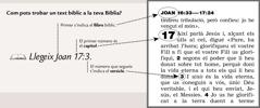 Exemple d'una referència bíblica