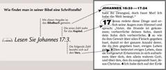 Beispiel, wie man eine Schriftstelle in der Bibel findet