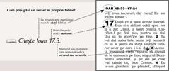 Cum poate fi găsit un verset în Biblie