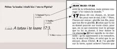 Exemple de référence biblique