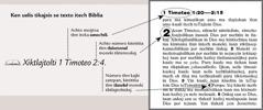 Moteititia se tlaxelol bíblico