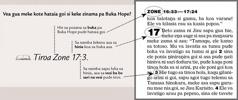 Example bilong wanfala scripture reference