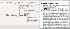 Sampol ng teksto sa Bibliya