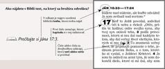 Ukážka odkazov na Bibliu