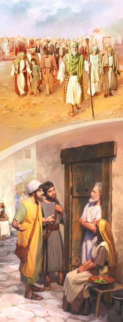 1. God's people in ancient Israel; 2. First-century Christians in hte organized preaching work