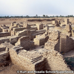 Uninhabited ruins of ancient Babylon