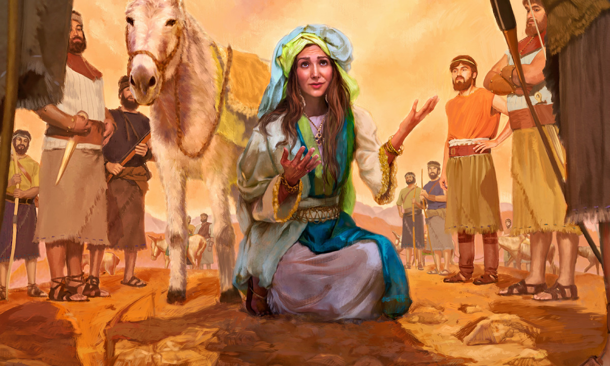 abigail in the bible u2014she acted with discretion true faith