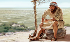 Yunus dengan marah melihat tanaman labu air yang mati