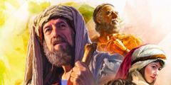 Homens e mulheres fiéis da Bíblia: Abrão (Abraão), Elias, Rute