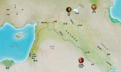 聖經時代的地圖,忠心的亞伯,挪亞,亞伯蘭(亞伯拉罕)生活的地方