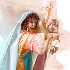 Царица Иезавель гневно кричит