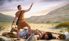 David dödar Goljat