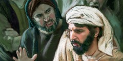 Иеремия в толпе рассерженных людей