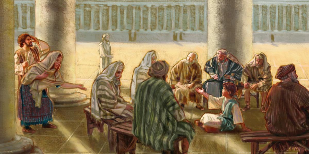 Joseph Vater von Jesus in der Bibel