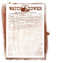 Sampul ni majalah Zion's Watch Tower and Herald of Christ's Presence na parjolo