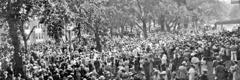 1935-жылы Жахабанын Күбөлөрүнүн Вашингтондо өткөн жыйынына көп адамдар келген