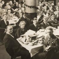 La familia Betel celebrando su última Navidad en 1926