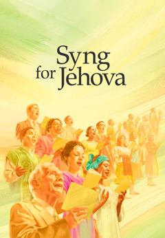 Forsiden af bogen Syng for Jehova
