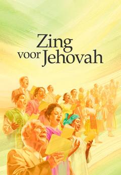 Cover van het boek Zing voor Jehovah