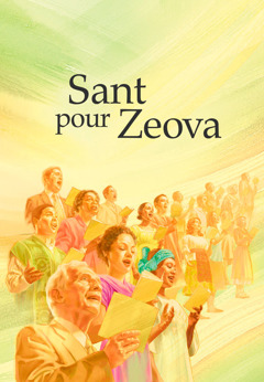Kouvertir liv Sant pour Zeova