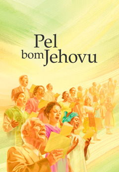 Naslovnica pesmarice Pel bom Jehovu