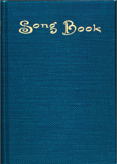 Cover of the book Songs of Praise to Jehovah, 1928