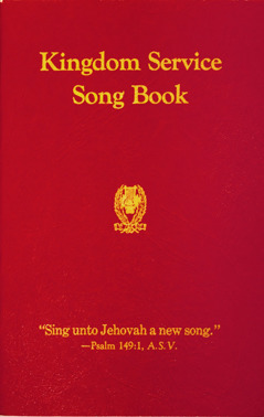 Omslaget till Kingdom Service Song Book, 1944.