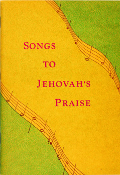 Sampul ni buku Songs to Jehovah's Praise, 1950