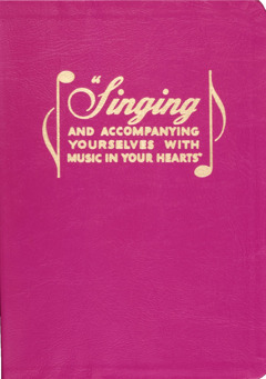 "Cover of the book ""Singing and Accompanying Yourselves With Music In Your Hearts,"" 1966"