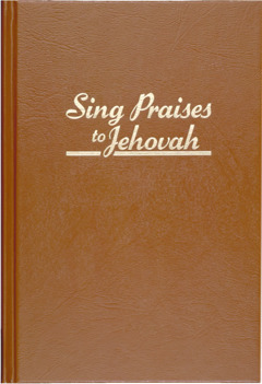 Cubierta de Canten alabanzas a Jehová (1984)