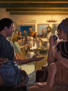 Un kongregashon di kristiannan di promé ta tene e Konmemorashon anual di e morto di Kristu