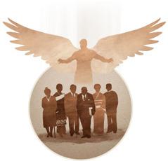 الممسوحون الباقون على الارض يُجمعون الى السماء