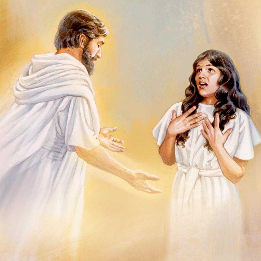 El Angel Gabriel Entrega Unos Mensajes De Parte De Dios La Vida De